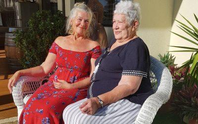 Betty and Sharon